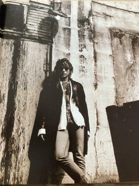 Jon Bon Jovi by Anton Corbijn 1993